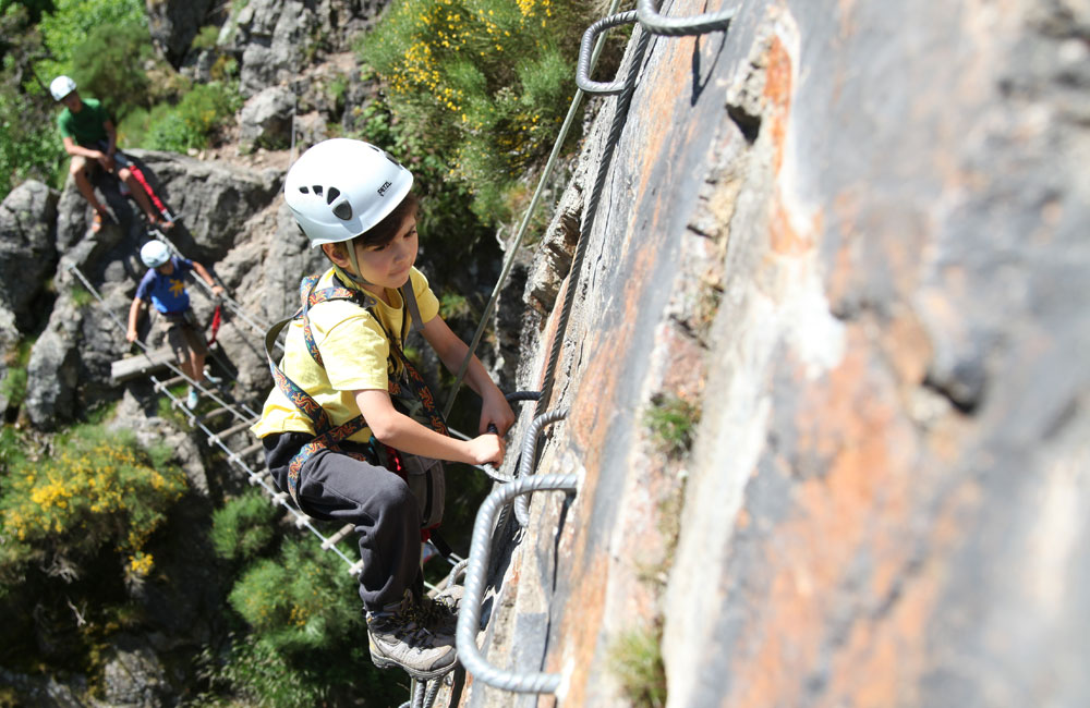 Via Ferrata enfant